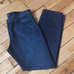 Lucky Brand Men's dark was straight leg jeans